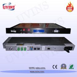 Amplificateur à fibre dopée Erbium CATV/1550nm EDFA/amplificateur optique avec entrée RF