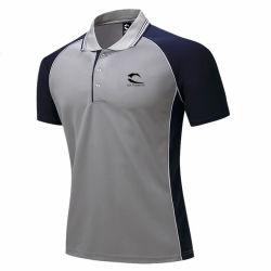 T-shirt Occasionnel de Polo de Chemise de Polo Fait sur Commande Haut T-shirt de Loisirs de Polyester de Haute Qualité