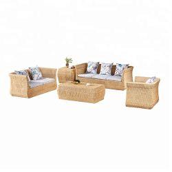 Bureau de l'apparence moderne et un canapé-utilisation spécifique de conférence Bureau canapé Bureau mobilier en rotin