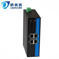 고품질을%s 가진 10/100M 4UTP PoE Ethernet 스위치
