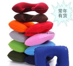 Matériau PVC flocage Travel Air cou oreiller gonflable