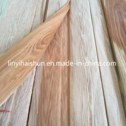 Placage de chêne rouge naturel pour le mobilier d'une année