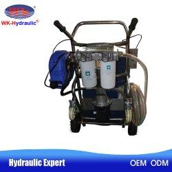 Karren van de Filter van de Filter van de Olie van het hydraulische Systeem de Draagbare