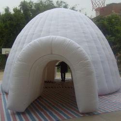 Diseño emergente de atención al cliente en el exterior del Domo Garden Party carpa hinchable
