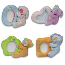 Funny diversos animales de peluche Osito de peluche juguetes de bebé el marco de fotos
