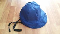 Adult를 위한 진한 파란색 PU Rain Hat /Rain Cap 또는 Raincoat