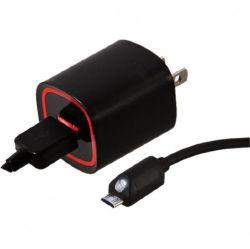 2.4A Chargeur mural avec 6FT Câble Micro pour les téléphones Verizon