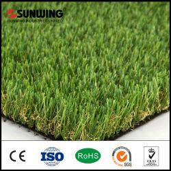 Di alta qualità paesaggistica naturale erba sintetica Prato