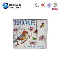 Placa de pared de madera para decorar la decoración del hogar