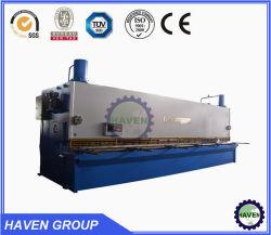 ماكينة جز هيدروليكية معتمدة من QC12Y-6X4000 CE للبيع، ماكينة قص المقصلة الهيدروليكية التلقائية CNC
