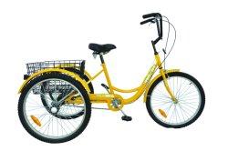 24 polegadas triciclo adultos Velocidade 1 Bicicleta de Carga
