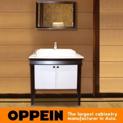 옵페인 클래식 래커 마감 목재 욕실 배니티(OP15-119A)