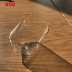 Verre de Whisky Slanted-Bottom en forme de diamant
