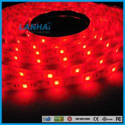 indicatore luminoso di striscia di colore rosso LED di 12V SMD 5050 30LED/M