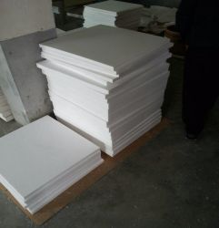 Feuille de PTFE blanc, PTFE Rouleau, bâches en PTFE pour joint industrielle