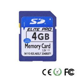 カメラのラップトップのための高速記憶装置のカードSDのカード4GB