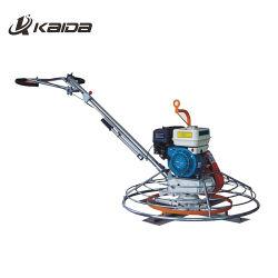 La macchina intonacante dinamica concreta di Kaida si muove dietro la pala concreta