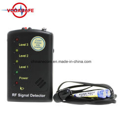 GPS van het Insect 2g/3G/4G van het Apparaat van de anti-Spion van de Scanners van Len van de Camera van de Detector van de Aanwijzing van de Richting van de Opsporing van de Camera van de draad de Laser Bijgestane MultiDetector van de Drijver