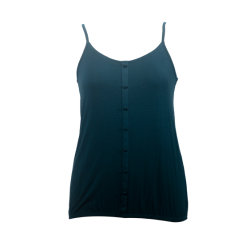 سيدات قميص [فيسكس] [سليفلسّ] صلبة جرسيّ وزرة ميل مواد أعلى لأنّ نساء