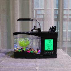 Kw2010b l'horloge temps LCD basse tension Aquarium de la pompe à eau