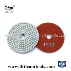 Formiguinha Mármore Granito Diamond Almofada de polir a utilização com água de qualidade dos EUA