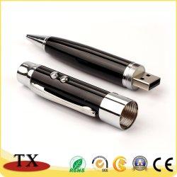 Laser fonctionnelle USB Pen Drive pour l'entreprise, cadeau de promotion