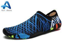 Descalzo moda zapatos deportivos zapatos de agua de la playa de aliento para los hombres