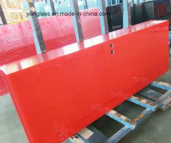 Porta de vidro laminado temperado com orifícios, Slot, Micky Processar