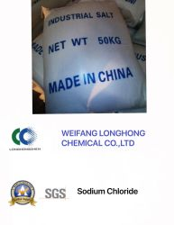 Cloreto de Sódio Saling quente / Nacl / Sal Industrial utilizada na fundição de minério Nº CAS 7647-14-5