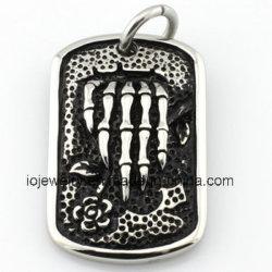 مجوهرات حيوان القلادة من الفولاذ المقاوم للصدأ لعيد القديسين