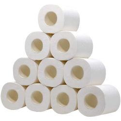 Les fournisseurs chinois Eco Friendly bambou du papier de toilette de couleur blanche