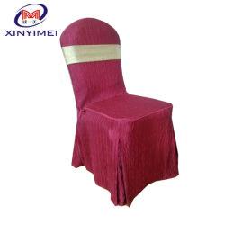 Grosse vente banquet de mariage Président couvrir textile polyester (XY297)