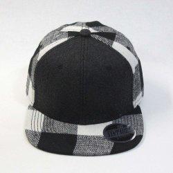 패션 야구 모자 양모 블렌드 격자무늬 조절 가능한 스냅백 캡 맞춤형 남자 여성용