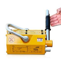 3 مرات 1000 كجم، 3000 كجم رافع مغناطيسي دائم للتعامل مع الألواح الفولاذية