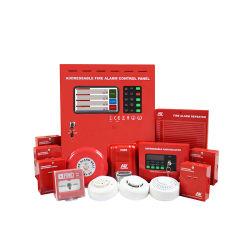 2 draad 8 Controlebord van het Systeem van het Brandalarm van de Lijn het Adresseerbare