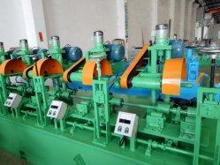 Decisiones de tubo redondo de metal galvanizado maquinaria pulido