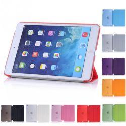 Para iPad Mini série Simplism Baseus Original acorde dobra estojo de couro do suporte do protector de tampa inteligente para iPad Mini