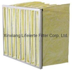 Efeito médio de fibra de vidro do filtro de mangas