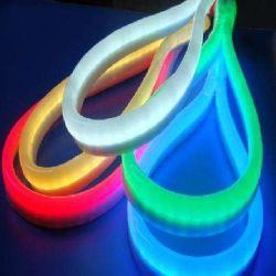 مصباح LED مرن القطاع من السيليكا عالي الجودة بجهد 12 فولت من أجل إضاءة شعار السيارة