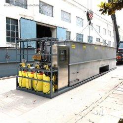 Kompaktes industrielles und inländisches begrabenes Abwasserbehandlung-Gerät