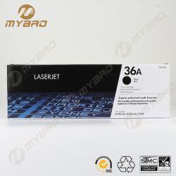 Suministro de la impresora para cartucho de tóner original CB436A Cartucho de tóner negro 36A.