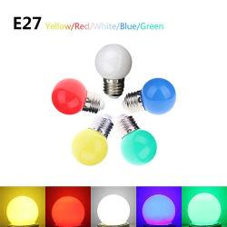 Sete Cores 1W 3W lâmpada LED para o Natal