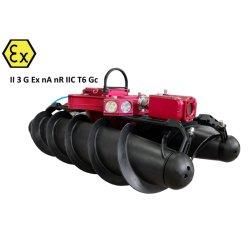 Robot robusto di controllo della conduttura di drenaggio della fogna dello zoom del CCTV di drenaggio della fogna