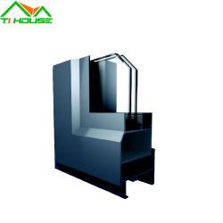 Portello scorrevole LED della finestra di alluminio che illumina profilo di alluminio esterno Backlit dell'espulsione