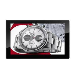 Publicidad 13.3 pulgadas cuadradas Marco Digital Pantalla LCD HD