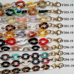 ID21.5mmの方法カラー配列デザイン鉄犬のホックシリーズ装飾の鎖プラスチックチェーン袋のアクセサリ(YF298-19)