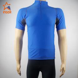 Пользовательские модели Быстрый сухой Установите пользовательский спортзал кофта мужчин фитнес-костюм высокое качество сжатия износ рубашки