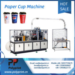 Разлагаемые однократного применения двойные стенки холодные напитки и кофе чашки бумаги формовочная машина принятия решений