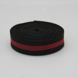 다채로운 줄무늬 PP/부대 부속품을%s 나일론/폴리에스테/면 가죽 끈