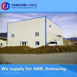 Q235B (160, 000MT 수출되는) 모듈 무거운 Prefabricated 금속 빛 강철 구조물 전 설계된 강철 구조물 건축 제작 구조